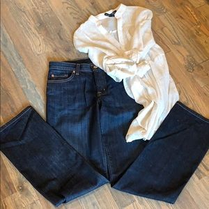 David Khan designer jeans MADE IN THE USA